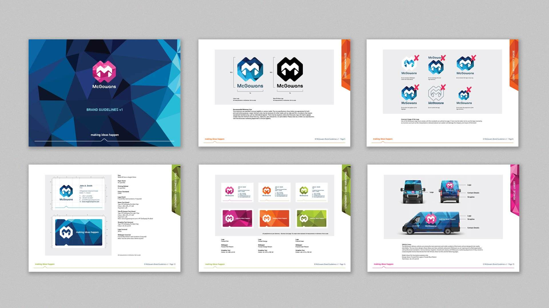 McGowans Brand Guidelines 6pages