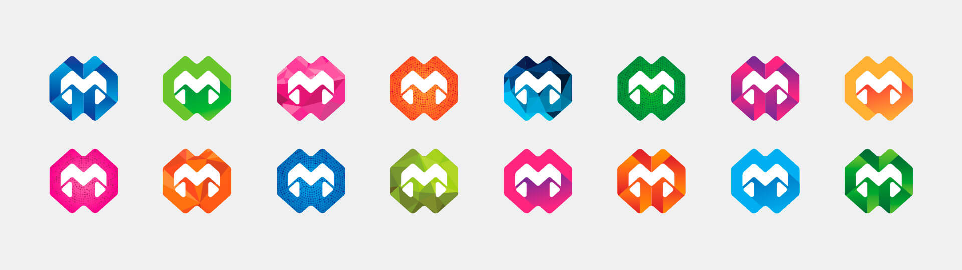 McGowans different coloured logos