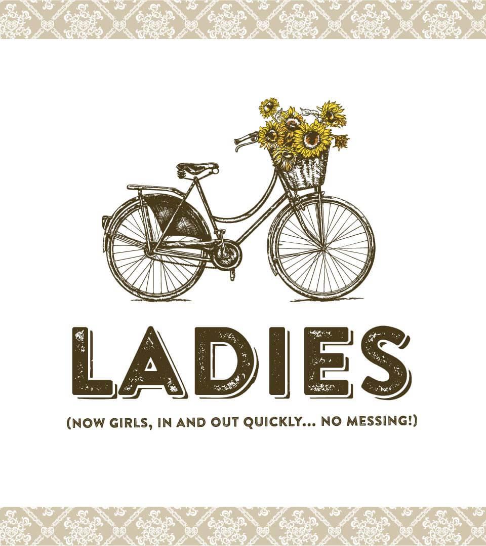 Vintage Inn womens Signage