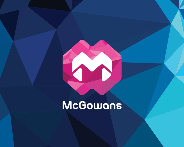 mcgowans logo and identity