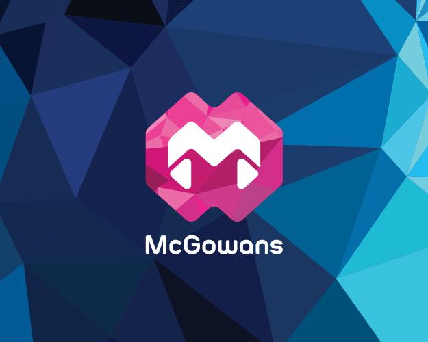 mcgowans logo and identity