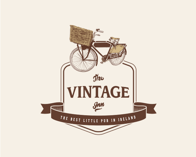 rebranding the vintage inn, logo, identity, website