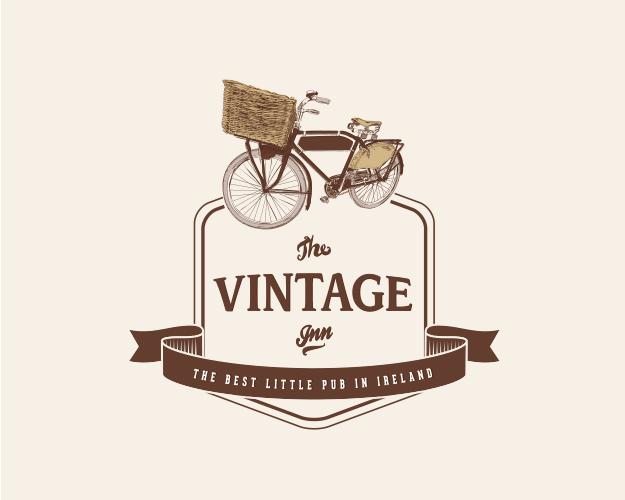 rebranding the vintage inn, logo, identity, website
