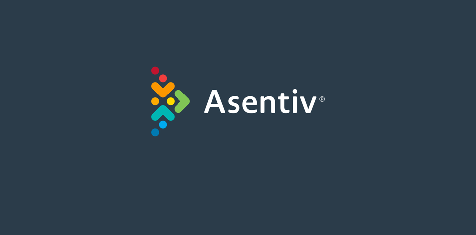 Asentiv logo after rebrand
