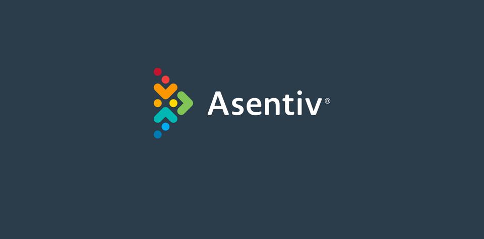 Asentiv logo after rebrand