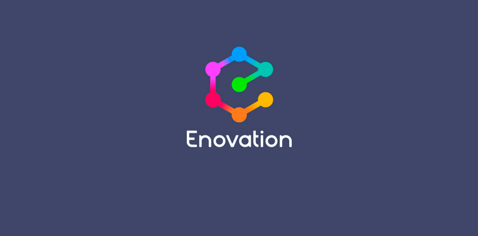 Enovation logo after rebrand