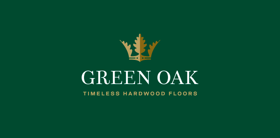 Green Oak logo green after