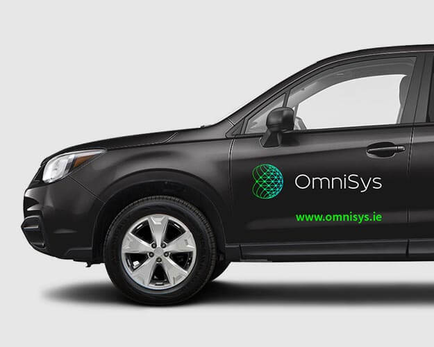 OmniSys new brand design for vehicle wrap