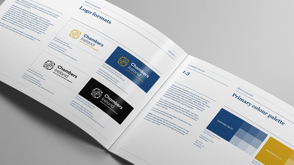 Chambers Brand Guidelines document