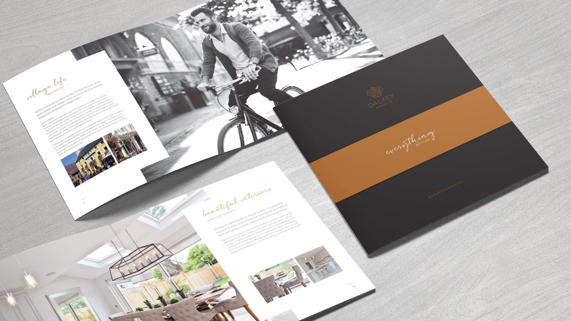 A premium brand for a luxury property development – create