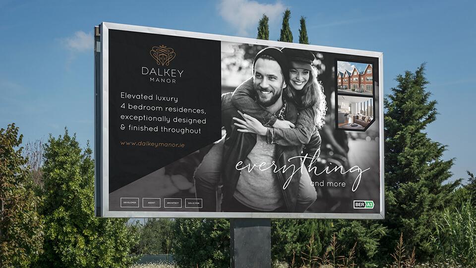 Luxury Property Development Sign