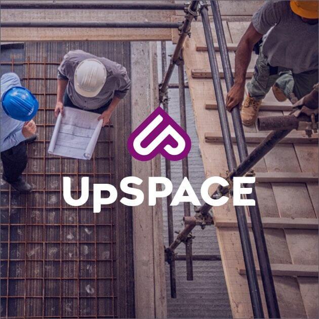 Upspace branding, logo