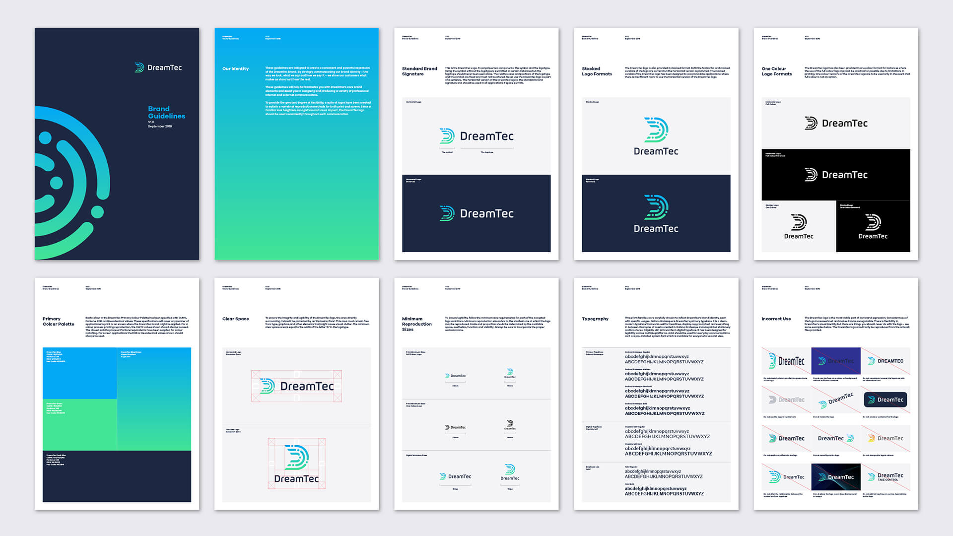 DreamTec brand guidelines