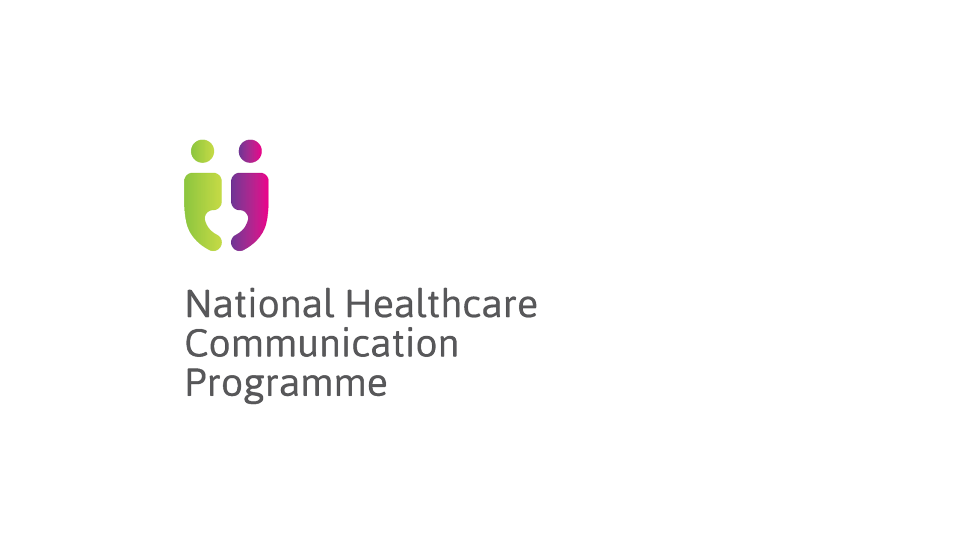 HSE national healthcare communication programme verticallogo