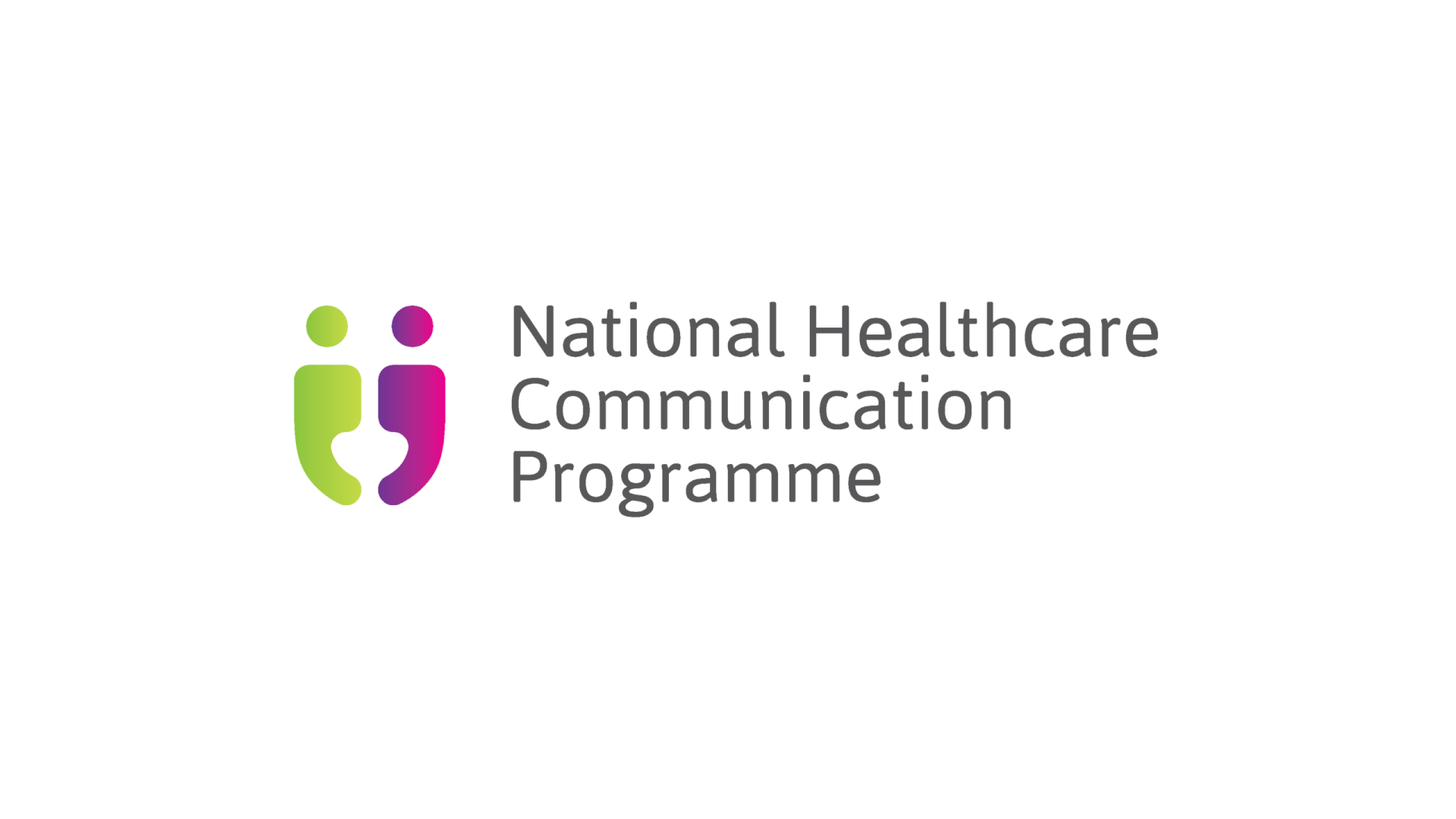 HSE national healthcare communication programme horizontal logo