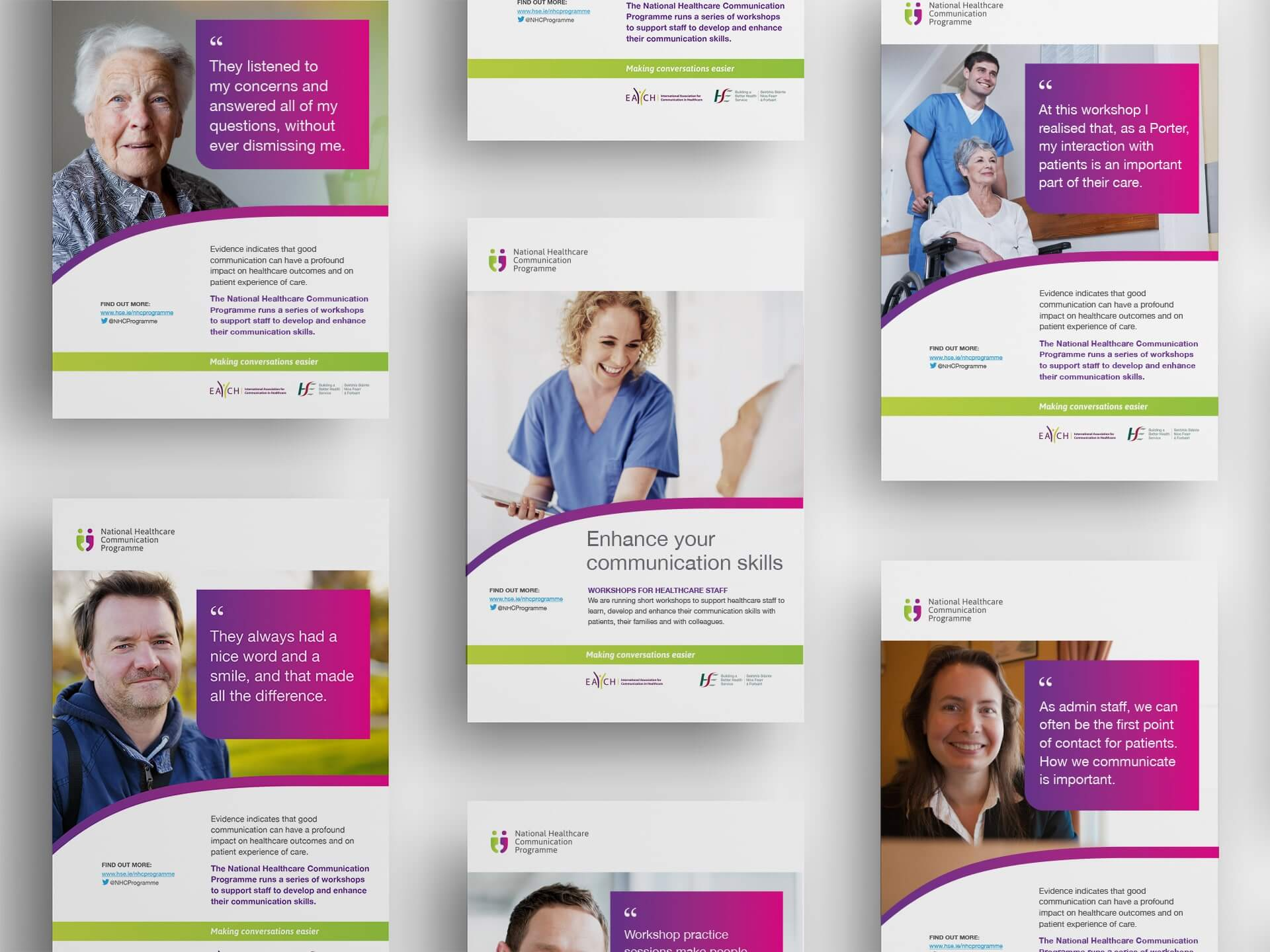 National Healthcare Communication Programme posters