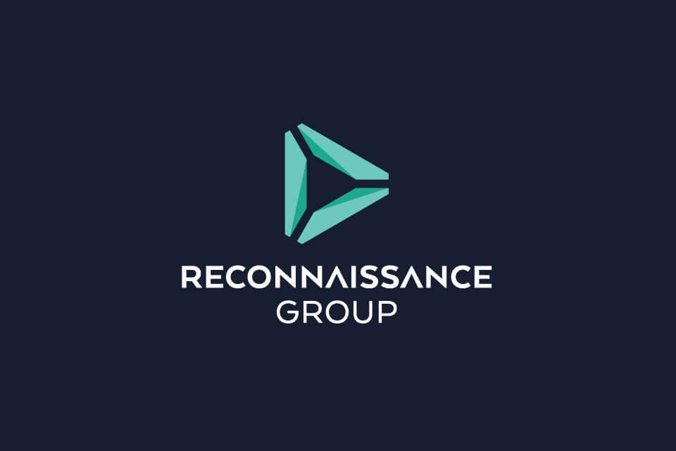 Reconnaissance reversed logo