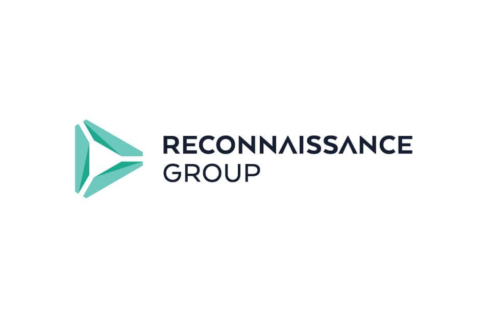 Reconnaissance vertical logo