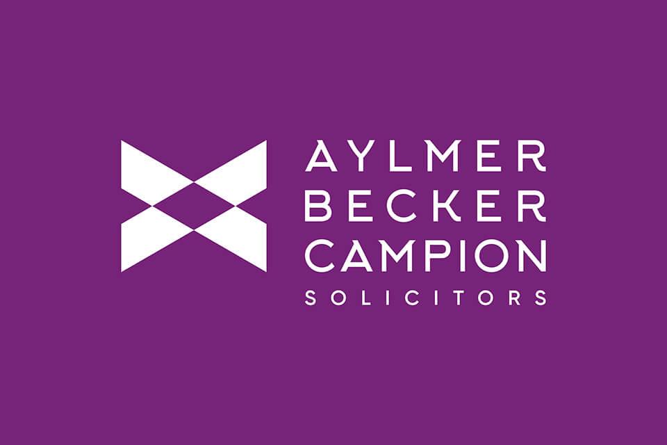 aylmer becker campion solicitors reversed logo