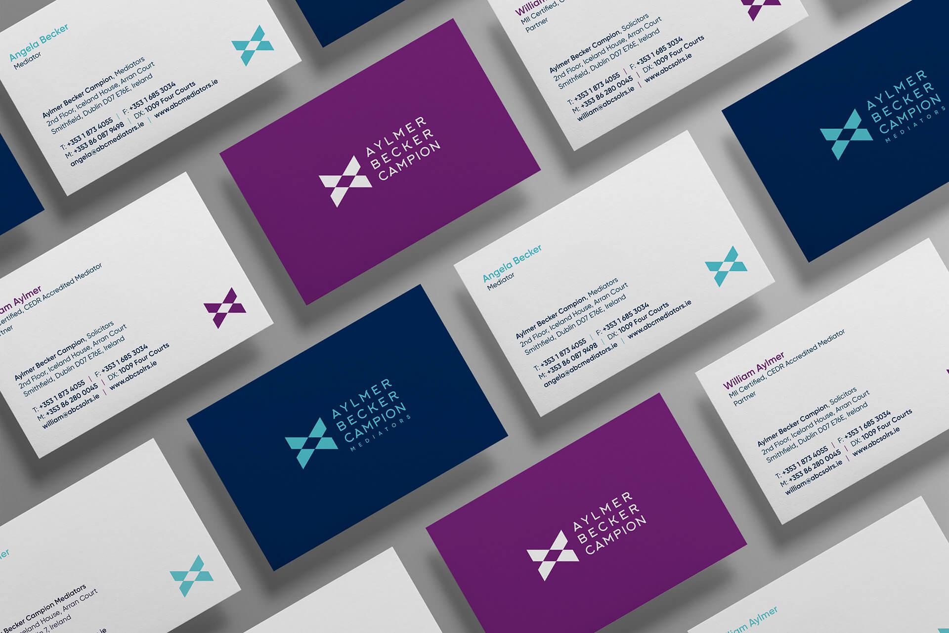 aylmer becker campion solicitors business cards