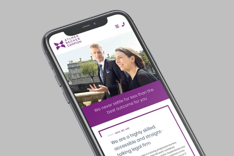 aylmer becker campion solicitors mobile website