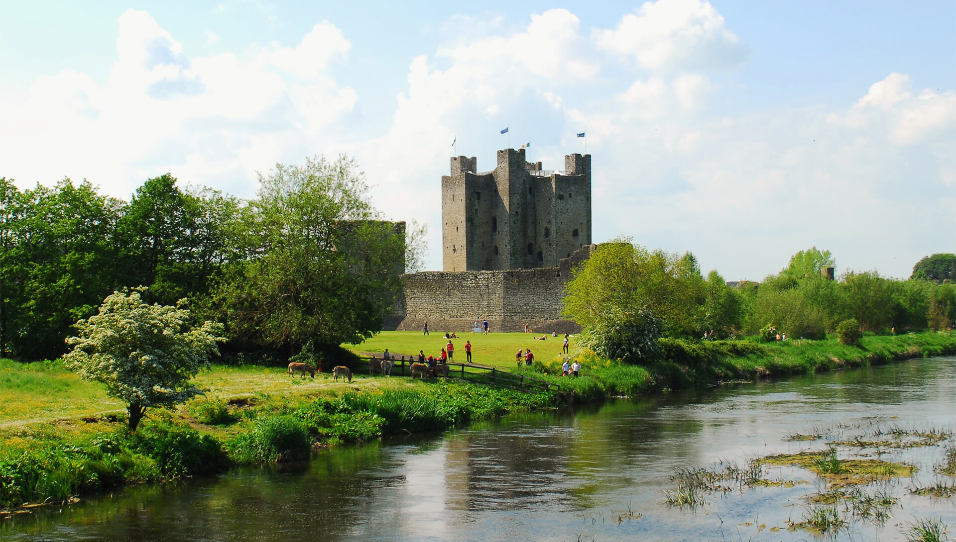 irish landscape trim castle