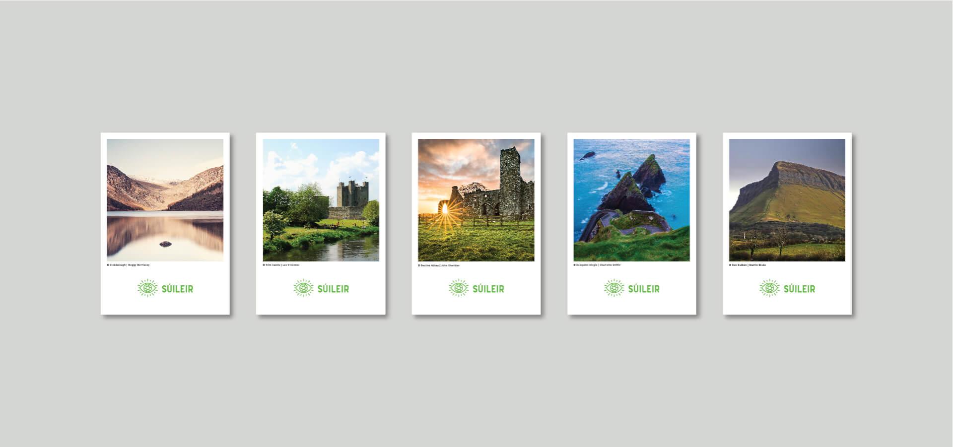 suileir postcard series